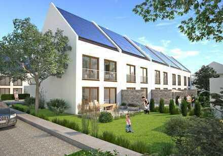 Nur noch 50 % verfügbar!!! Sonnenhäuser Moosburg - Neubau-Reiheneckhaus in KfW-55-Bauweise