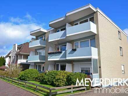 Vermietete 2-Zimmer Eigentumswohnung im Erdgeschoss mit Balkon