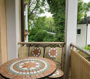 Brück Immobilien - Ansprechende 3 Zi.-Eigentumswohnung mit idyllischem Süd-/West-Balkon