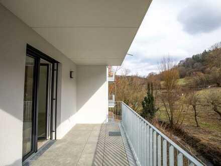 **Mönsheim - Exklusive 2-Zimmer-Wohnung (Neubau) im Mitteltal am Grenzbach**