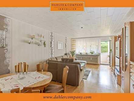 Gepflegte Eigentumswohnung mit Balkon in ruhiger Wohnlage in Blaustein!