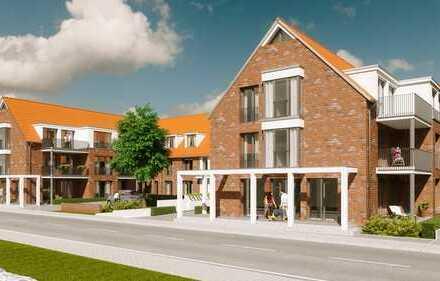 Erstbezug: exklusive 3-Zimmer-EG-Wohnung mit Balkon in Pattensen