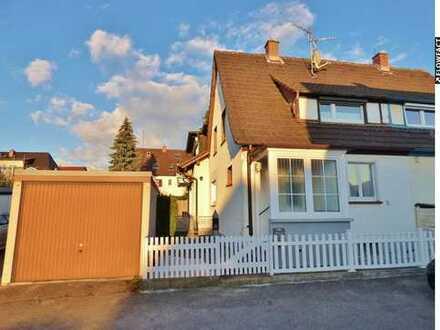 Geräumige und ruhig gelegene Doppelhaushälfte mit Garten in Freiburg St. Georgen !