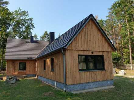 Traumhaftes Jagdhaus am Rand der Königsbrücker Heide in Alleinlage mit Wald, Wiesen und Ackerflächen