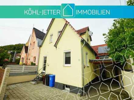Renovierte Doppelhaushälfte in beliebter Wohnlage von Albstadt-Ebingen!