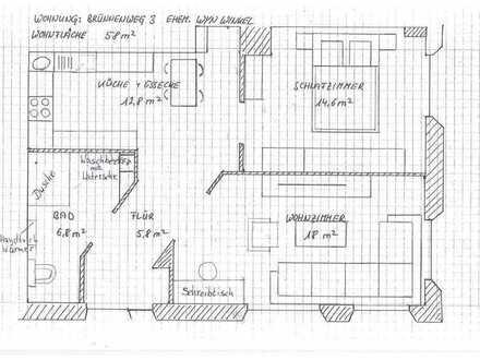 Moderne zwei Zimmer Wohnung in Freudenstadt (Kreis), Loßburg