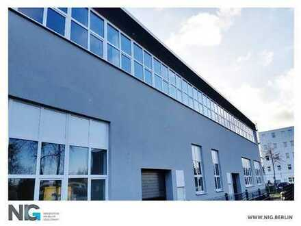 STEGLITZ| Modernisierte und tagesbelichtete Hallenflächen|separate Büros| ebenerdig | beheizt