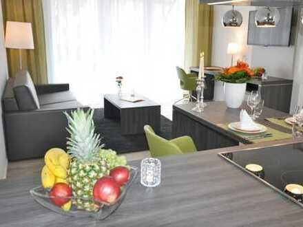 NEU! Hochwertig möblierter Wohntraum mit großem Südbalkon!