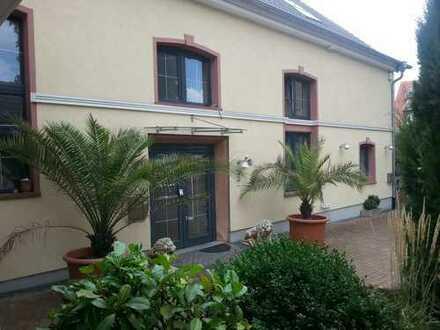 Einmaliges Anwesen: 379m² Wfl. + 200m² Saal - 1.338m² Grund - 5 Garagen