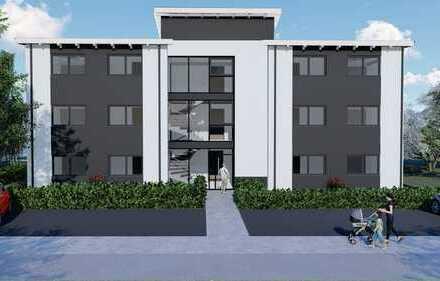 Modernes Wohnen im Neubaugebiet Laboe auf 87 qm 1. OG Links