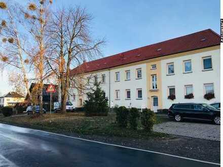 68 m² große 2,5-Zimmer-Wohnung inkl. Stellplatz und Schuppen