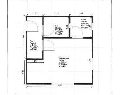 Exklusive, gepflegte 1-Zimmer-Wohnung mit Balkon und EBK in Au, München