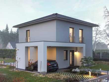 Ein modernes Haus für die junge Familie...
