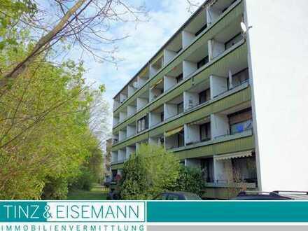 Kapitalanlage – gut vermietete 2 ZKB ETW mit 2 Balkonen und Stellplatz in Linkenheim-Hochstetten