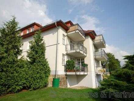 * helle 2-Zimmer-Wohnung mit Balkon und herrlichem Blick *