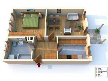 Schöne zwei Zimmer Wohnung in Bad Saulgau
