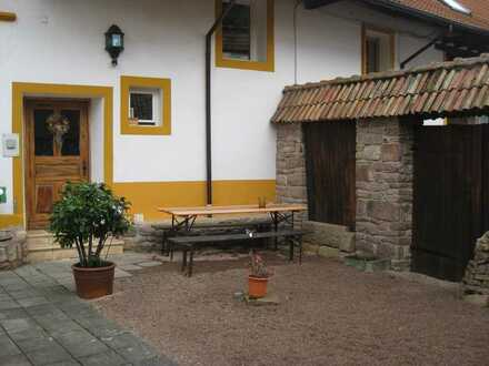 Wohnen auf 2 Ebenen im renovierten Winzergehöft