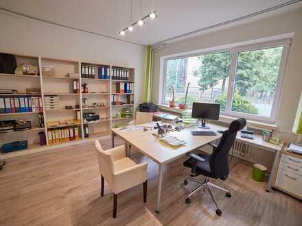 Lichtdurchflutete Büroraume in Steglitz-Lichterfelde, 2 Zi