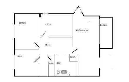 Stilvolle 3-Zimmer-Wohnung in Potsdam