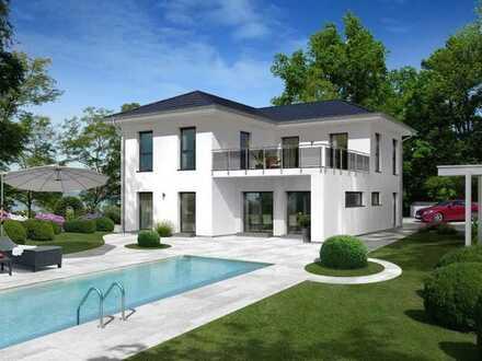 Moderene City Villa, inkl. Baunebenkosten & Grundstück, malerfertig EUR 430369,--