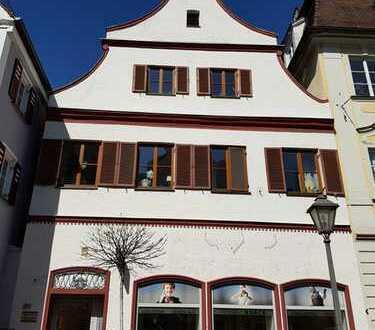 Neuwertige Wohnung, Stadtzentrum, drei Zimmer, große Dachterrasse, Schreiner-EBK in Dillingen