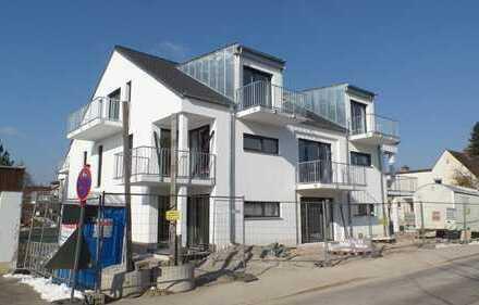Besichtigung!!letze Chance!! helle DG Wohnung mit sensationellem Ausblick 2 Balkone Neubau KfW 55!