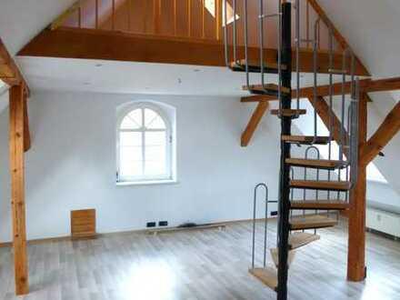 Seeblick! Traumhafte 2-Zimmer-Wohnung mit Einbauküche und Pkw-Stellplatz im Rheinsberger Zentrum