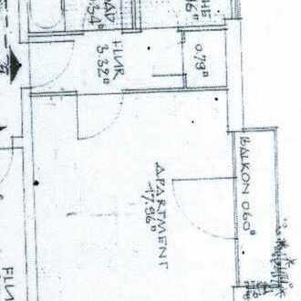 Erstbezug nach Sanierung mit Balkon: Schöne, ruhige 1-Zimmer Wohnung mit französischem Balkon in Pas