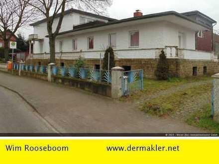 Schwarme: Wohn-Geschäftshaus mit 2 Garagen und Halle