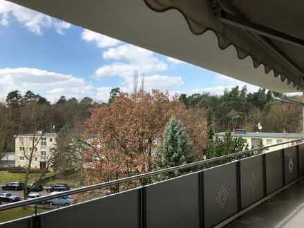 Freundliche 3-Zimmer-Wohnung mit Südbalkon in Gravenbruch