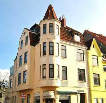 Helle 2-Zimmer-Wohnung mit Turmzimmer in Walle