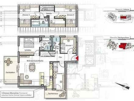 Sonniger Wohntraum ganz oben auf rund 130 m²