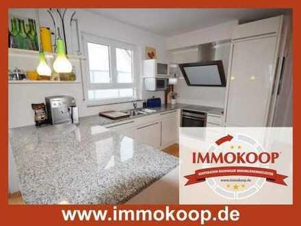 Möblierte 3- Zi.- DG- Maisonette Wohnung mit Terrasse für max. 3 Jahre