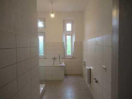 Schön sanierte 4 Zimmerwohnung mit Garten -zentral in Angermünde.