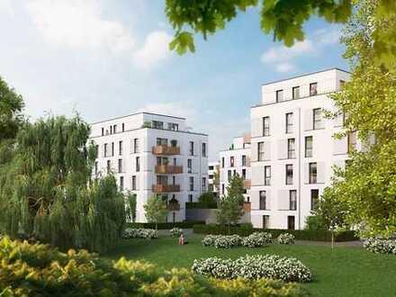 PANDION VILLE - Optimal geschnittene 3-Zimmer-Wohnung mit großem Wohn-Essbereich und HWR - Erstbezug