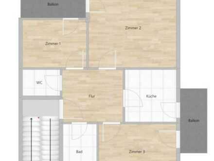 Geschmackvolle Wohnung mit drei Zimmern in Filderstadt