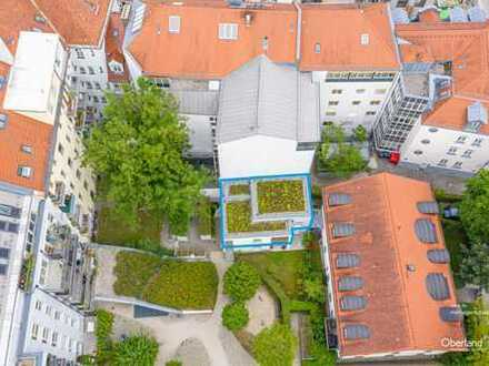 """Exklusive 2 Zimmer Wohnung in Pasing """"Das Besondere Innenhofhaus im Grünen"""""""