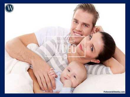 °Ideal für kleine Familien° 3-Raum-Wohnung mit Balkon und Wannenbad in ruhiger Lage