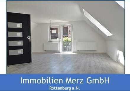 ~~Frisch renovierte und sonnige Dachgeschosswohnung mit großer Terrasse~~