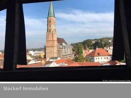Neubauwohnung mit Balkon auf zwei Ebenen - Terrassengärten, Steinweg 15-19, Dingolfing
