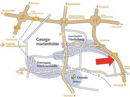 Stadt Georgsmarienhütte, 3,0 ha Gewerbegebiet, 1,2 ha Mischgebiet