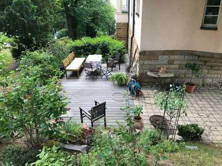 Elbtalpanorama..! Villen Etage komplett/ 5 Zimmer in ruhig geleg. Villa des Loschwitzer Elbhanges..
