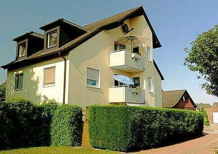 Über den Dächern von Alpen: schicke DG-Maisonette-Wohnung über 2 Ebenen, nur 3 Parteien, ruhige Lage