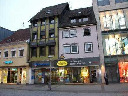 Büro-/Gewerberäume bzw. Ladengeschäft in Offenburg-City (Fußgängerzone) im 1. OG