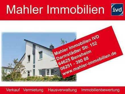 Wohnen in Zwingenberger Hanglage -helle und geschmackvolle Doppelhaushälfte mit Garage