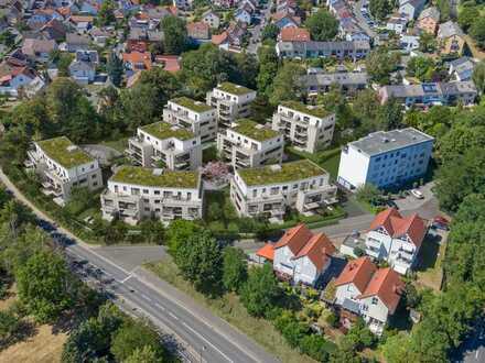 Barrierefrei erreichbare 3-Zi.-Neubauwohnung mit Balkon mitten im Herzen des Rhein-Main-Gebietes