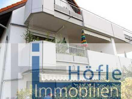 Heddesheim, vermietete 2 ZKB Wohnung mit großem Balkon und Pkw-Stellplatz