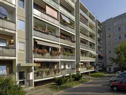 Wohnen im Grünen und doch in der Stadt. 3-Raum-Wohnung direkt an der Dresdner Heide.