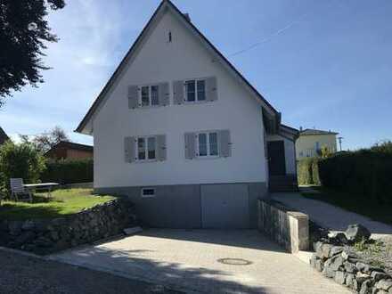 Schönes Haus mit großem Garten im Allgäu Stetten direkt an der A96