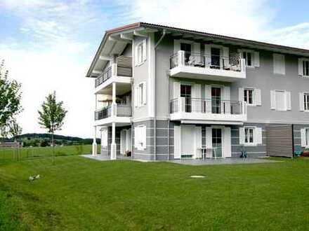 Elegante 3 Zimmer (Neubau-) Gartenwohnung in Aschau